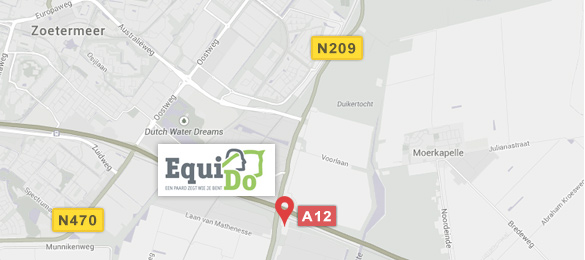 Kaart Equi-Do in Bleiswijk